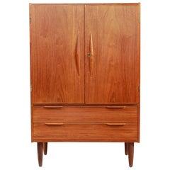 Teak Danish Design Highboard TV Cabinet