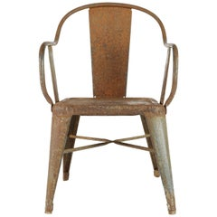 Original 1930s Tolix Kids Chair by Xavier Pauchard