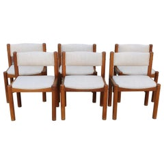 Six Danish Dining Chairs