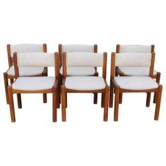 Six Danish Dining Chairs