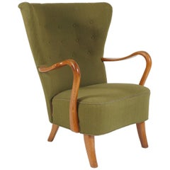 Danish 1940s Armchair by Alfred Christensen