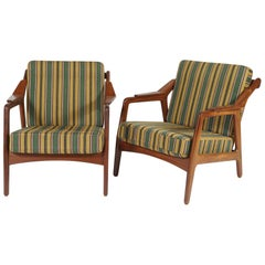 Pair of Danish Modern Chairs by H. Brockmann-Pedersen