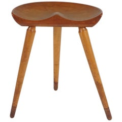 Danish Modern Milking Stool