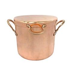 19th Century English Copper Daubière