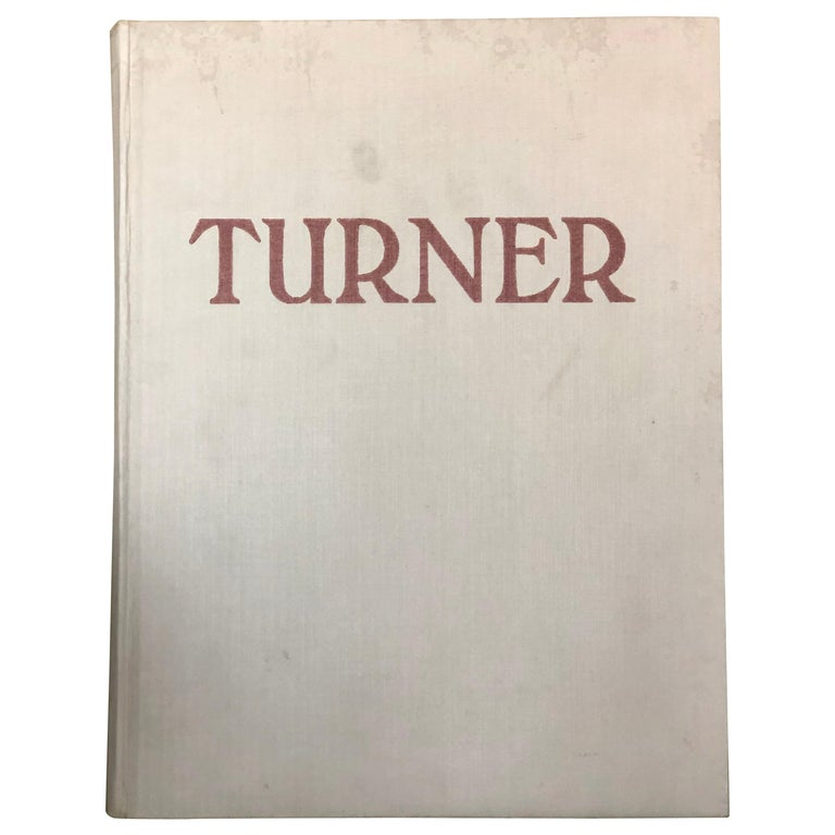 Turner by Camille Mauclair, Color Plates Printed, Photogravure,Paris, 1939 SALE For Sale