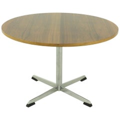 Round 1970s Side Table