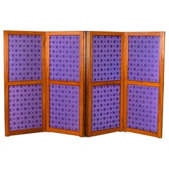 Antique Screen, English, Victorian Room Divider, Photographer's Prop, circa 1860