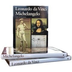 Leonardo Da Vinci and Michelangelo, Die Genies Der Renaissance, Zurich, 1989