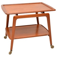 1960s Danish Teak Drinks Trolley by Arne Hovmand-Olsen for Mogens Kold