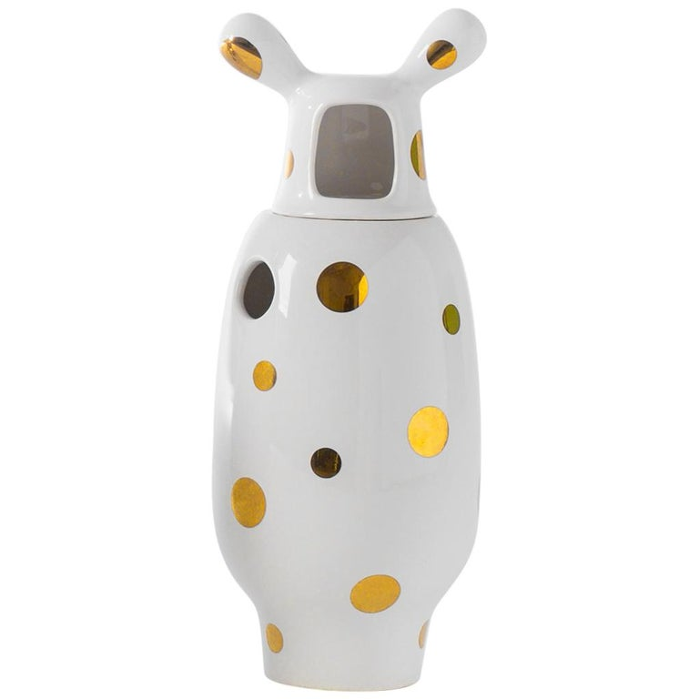 Jaime Hayon Contemporary Glazed Stoneware 'Showtime 10' Vase Number 2 For Sale