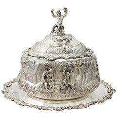 Victorian English Sterling Silver Preserve Dish