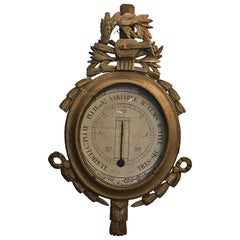 19th Century French Louis XVI Style Barometer