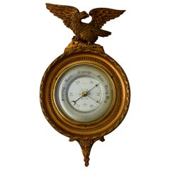 Barometer Shortland Smiths Compensated Eagle Mounted, 1960s