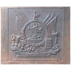 19th Century French 'Allegory of France' Fireback