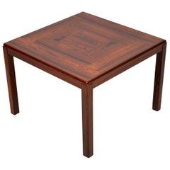 1960s Vintage Danish Wood Coffee or Side Table