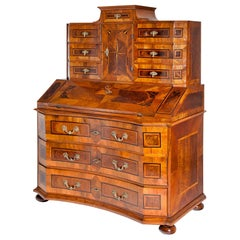 Secretaire, Southern Germany, circa 1720