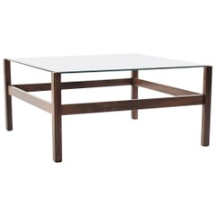 Architectural Rosewood Coffee Table