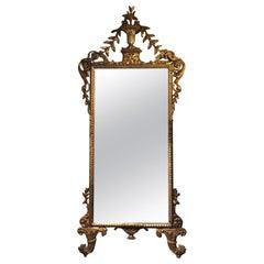 Late 18th Century, Italian Louis XVI Giltwood Mirror