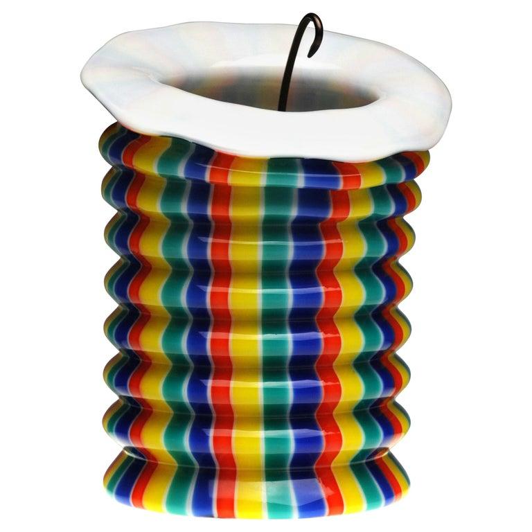 Venini Murano Glass Candleholder Lantern Fulvio Bianconi I Baloni Del Redentor