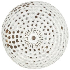 Antique Golf Ball Bramble Pattern Challenger Patent