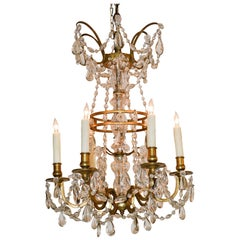 19th Century Northern Italian Crystal Chandelier