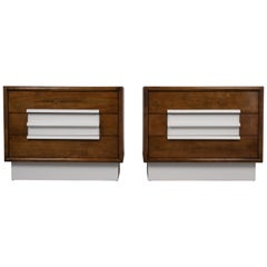 Pair of Modern Lacquered Chest of Drawers