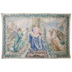 Antique Italian Sucre de Herb Tapestry