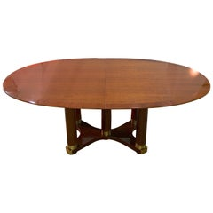 Henredon Triomphe Oval Dining Table