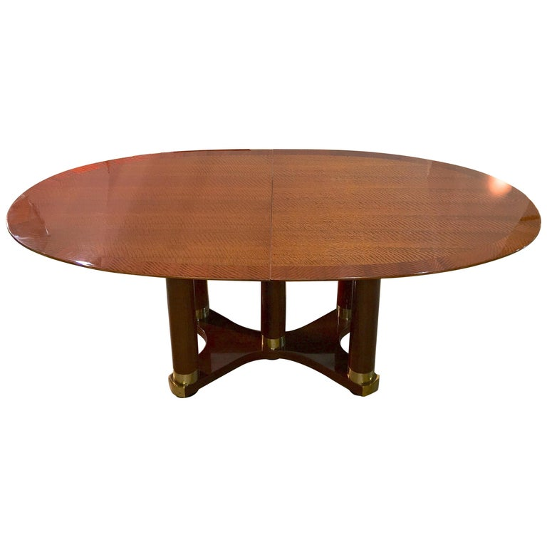 Henredon Triomphe Oval Dining Table (SATURDAY SALE) For Sale