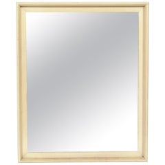 Clean Lined Lacquered Mirror by Paul Frankl