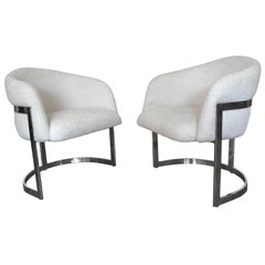 Milo Baughman Occasional Chairs