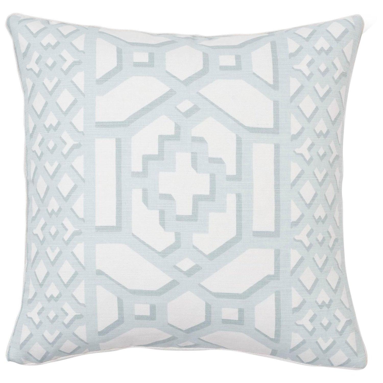 Zanzibar in Cerulean-One Pillow Cover