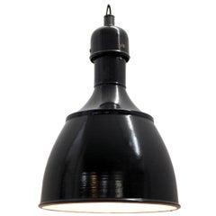 Black Dark Gray Enamel Vintage Industrial Pendant Lamps (50x)