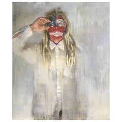 American Dreadlock, Acrylic on Canvas Painting, by LCAD Graduate