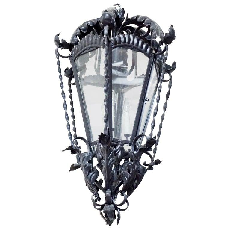 Medium Hanging Lantern For Sale