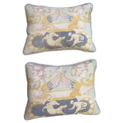 Vintage Linen Panel Pillows