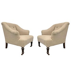 Pair of French Napoleon III Chairs