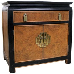 Chin Hua Nightstand End Table Cabinet by Raymond K Sobota for Century Furniture