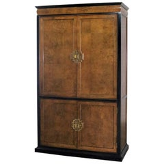 Large Chin Hua Raymond Sobota Entertainment Storage Armoire by Century Furniture