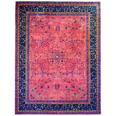 Early 20th Century Palace Size Larestan Rug