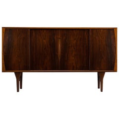 Danish Rosewood Sideboard by Henning Kjaernulf for Bruno Hansen, 1960s
