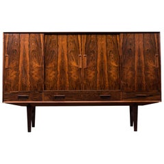 Danish Mid-Century Modern High Sideboard in Rosewood, 1960s