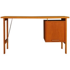 Bjerringbro Vintage Teak Desk Danish Design