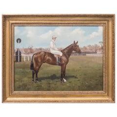 Portraits of a Jockeys and Racehorse