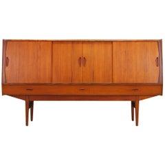 Highboard Teak Danish Design Retro, 1960-1970