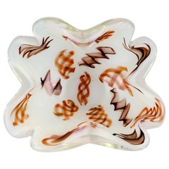 Murano, Bowl in Mouth Blown Art Glass, 1960s