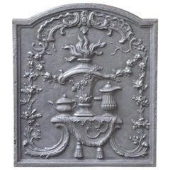 Victorian 'Fire Pot' Fireback