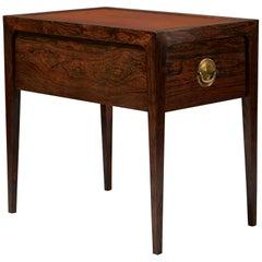 Bedside Table Designed by Helge Brandt, Denmark, 1963
