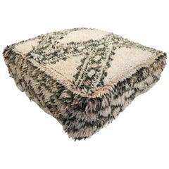 Moroccan Pouf Natural Floor Cushion Morocco Ottoman