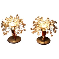 Table Lamps by Emil Stejnar for Rupert Nikoll, 1950s, Set of 2